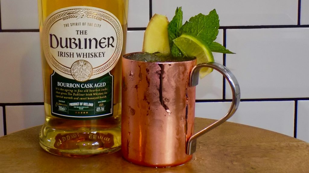 Molly Malone Mule Whiskey Cocktail