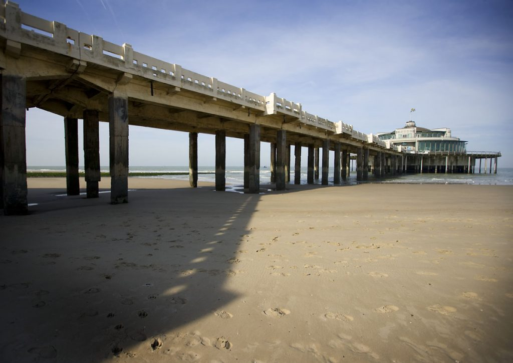 Beach and Pier
