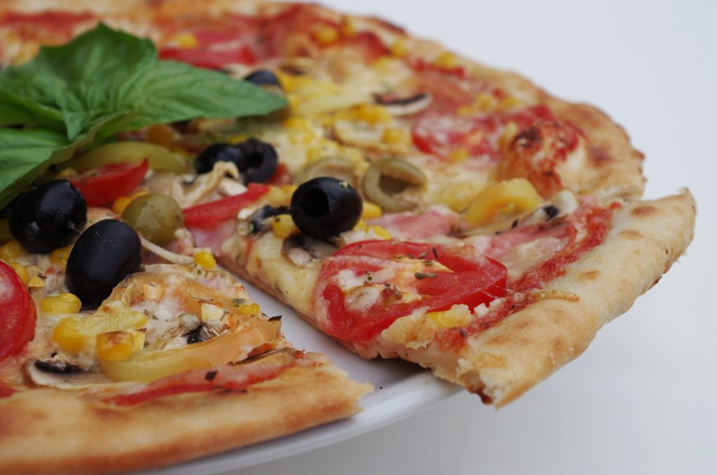 Pizza and Olives