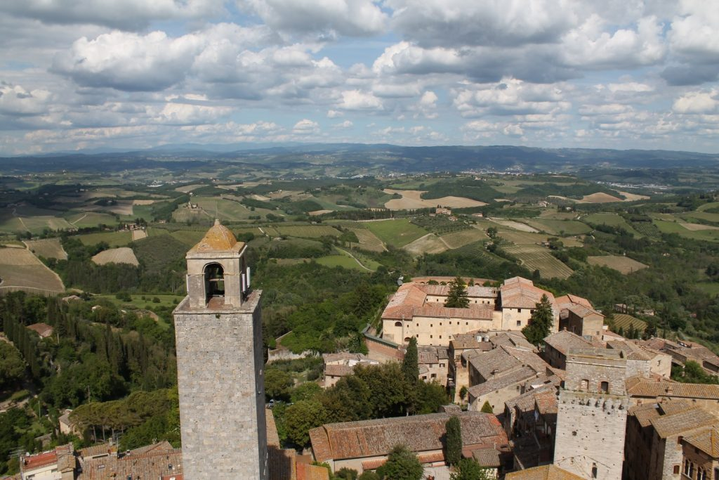 View from Torre Grossa San Gimignano