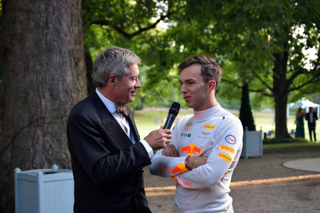 Tiff Needell and Pierre Gasly