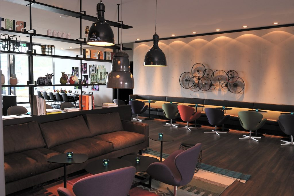 Motel One Amsterdam Lounge Seating
