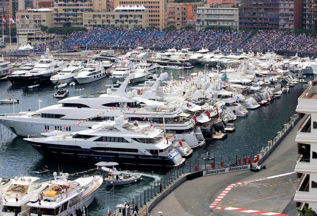 Monaco Yachts at Grand Prix