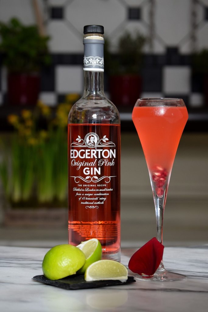 Edgerton Pink Gin Cocktail