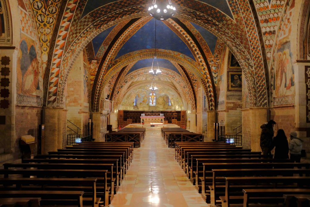 Assisi Church Interior