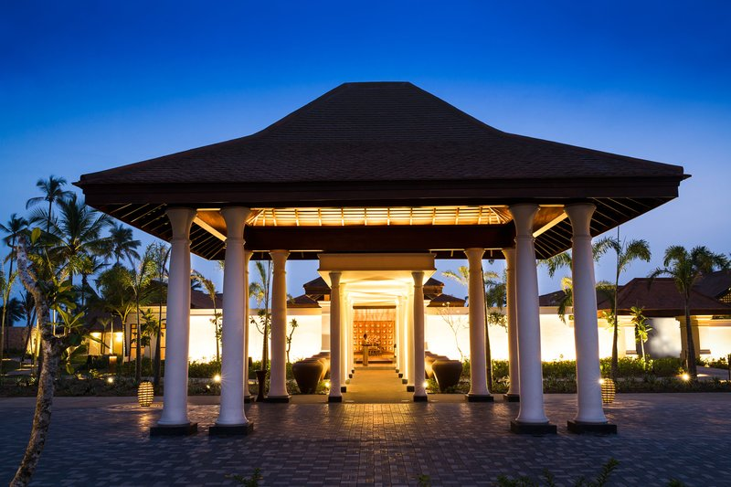 Anantara Tangalle Resort Entrance