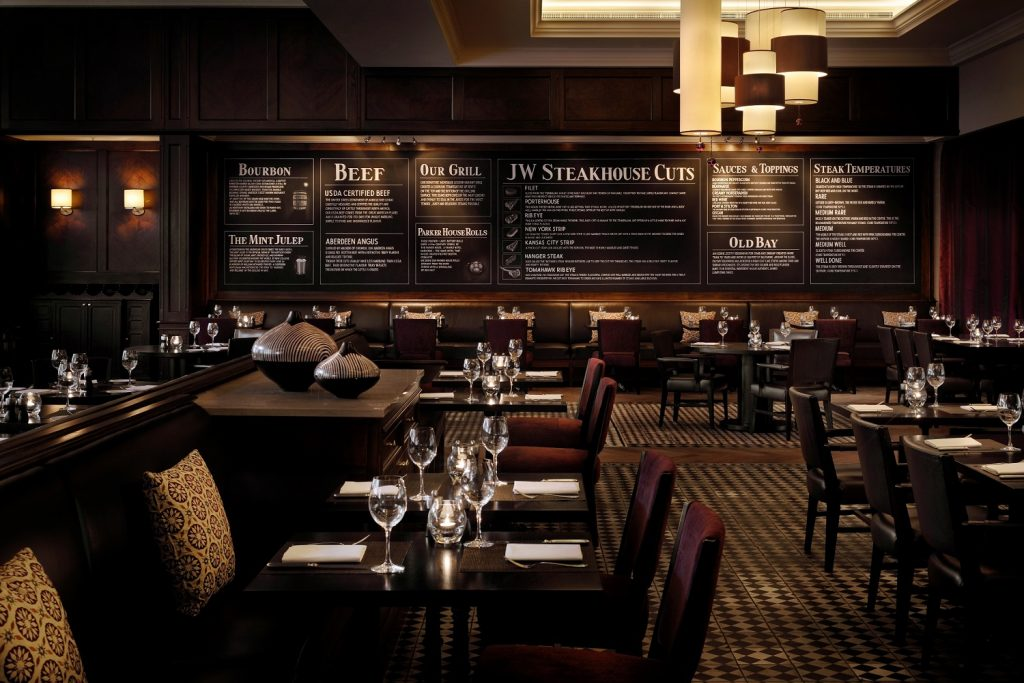 JW Steakhouse Blackboards