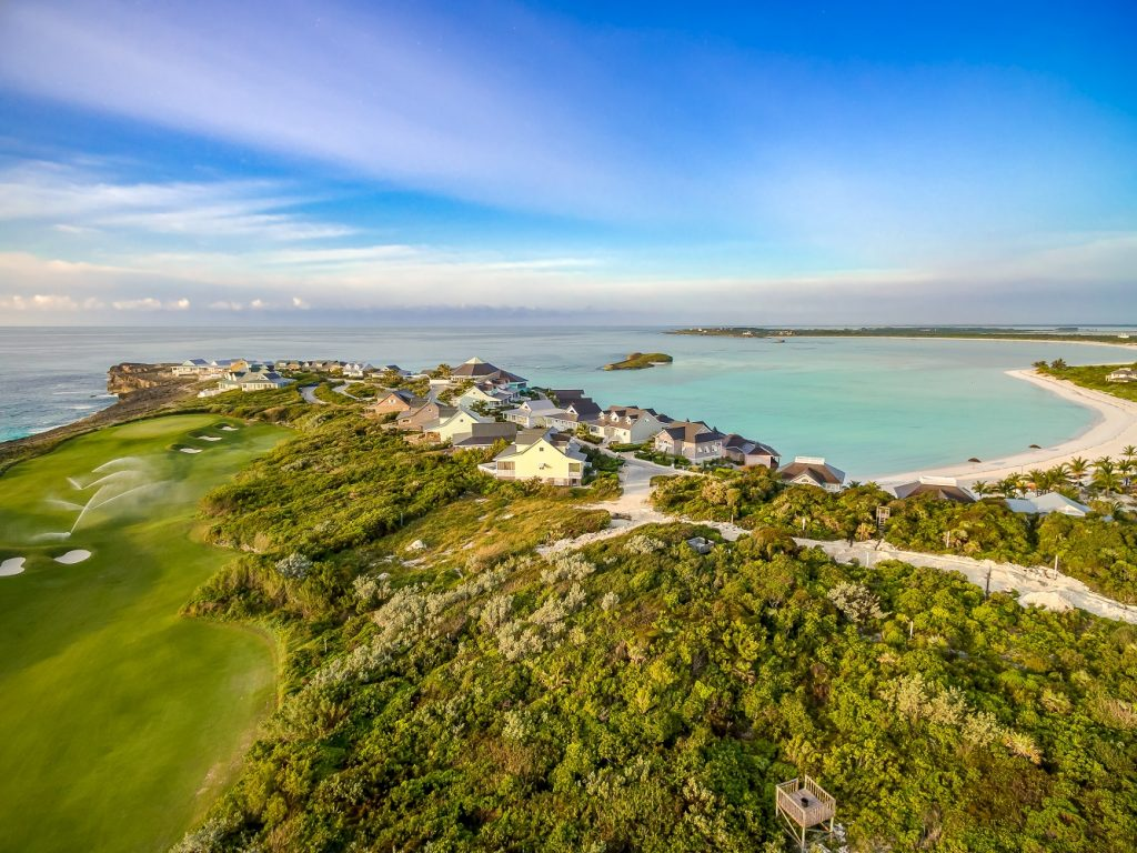 The Abaco Club and its beautiful golf course