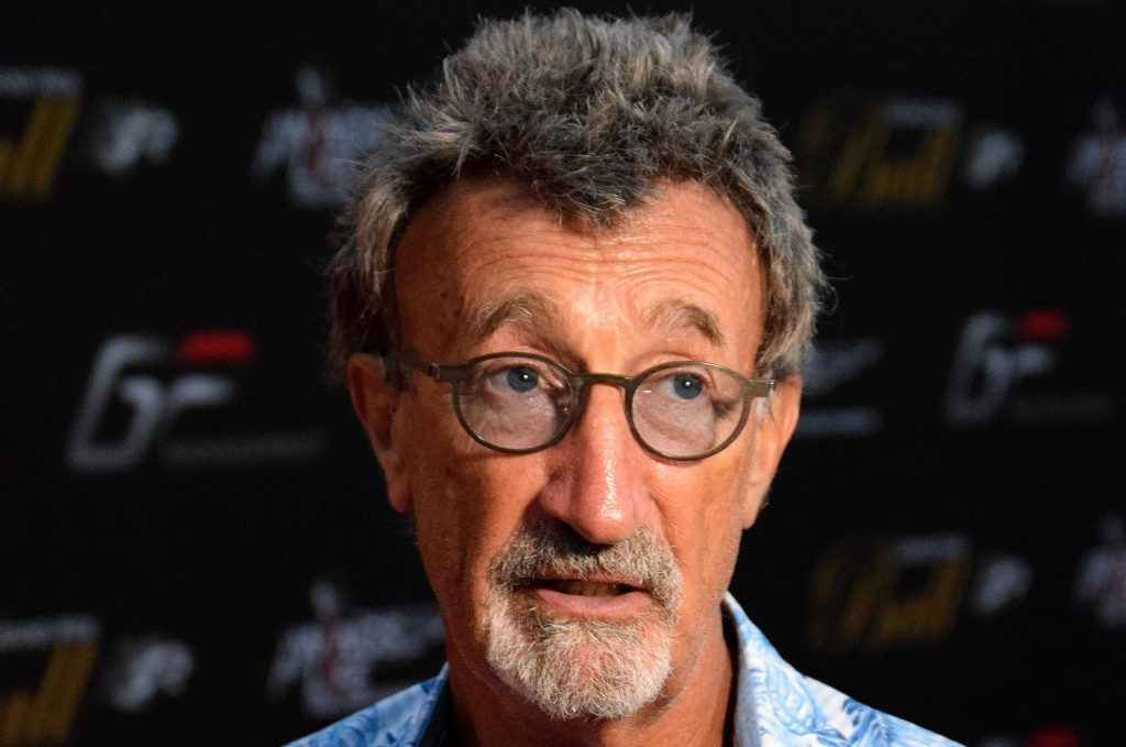 Eddie Jordan at last year's Grand Prix Ball