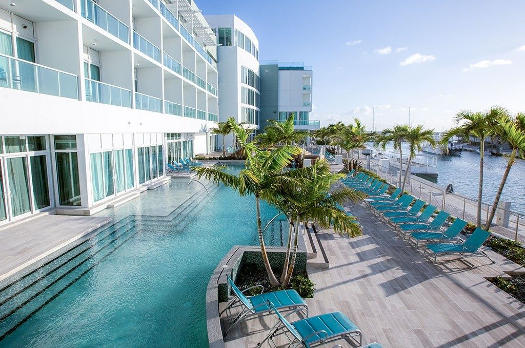 Hotel Pool and Sundeck