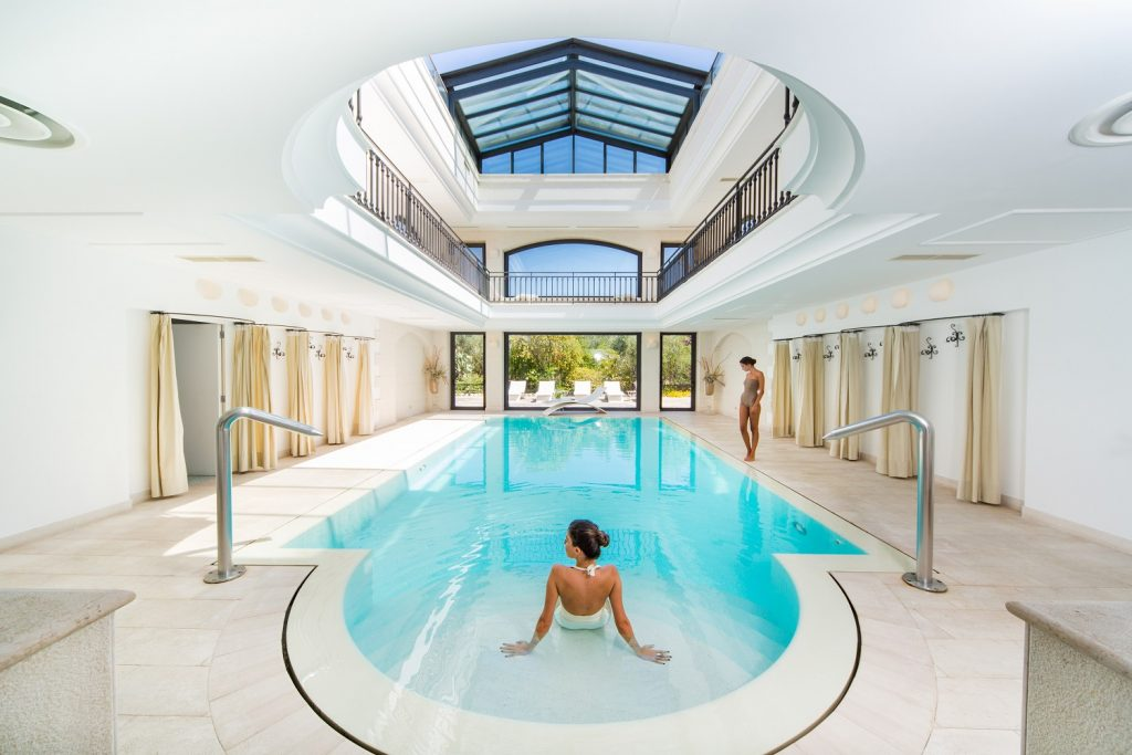 Masseria San Domenico indoor spa swimming pool