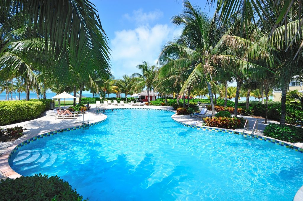 Old Bahama Bay Resort swimming pool