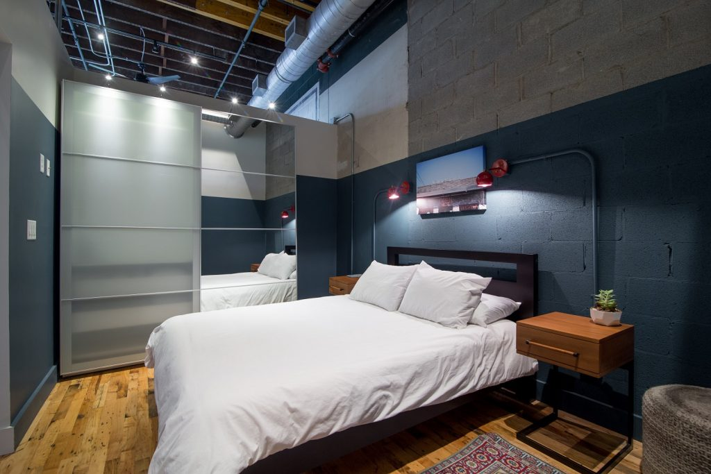 506 Lofts Bedroom