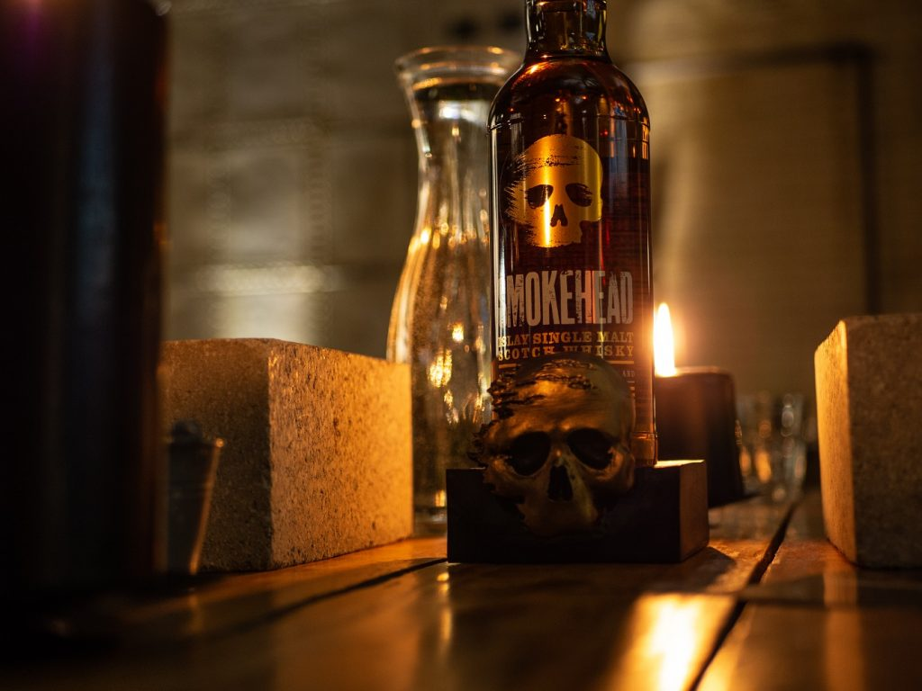 Smokehead Whisky Bottle