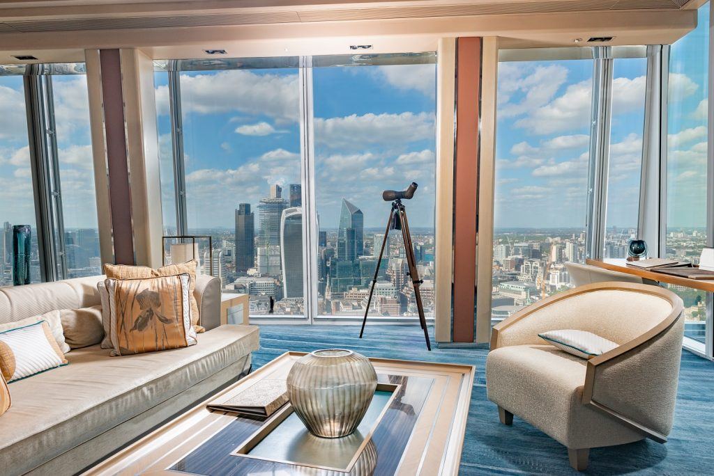 ATX Interior in Shangri-La London Suite – Photo by SWAROVSKI OPTIK