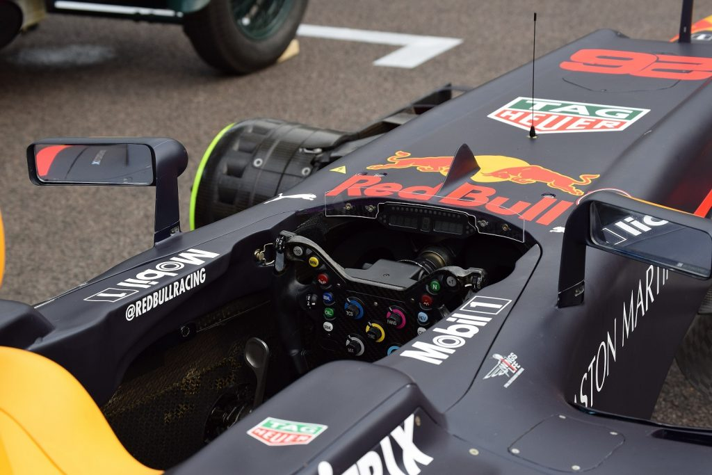 Aston Martin liveried Red Bull RB8