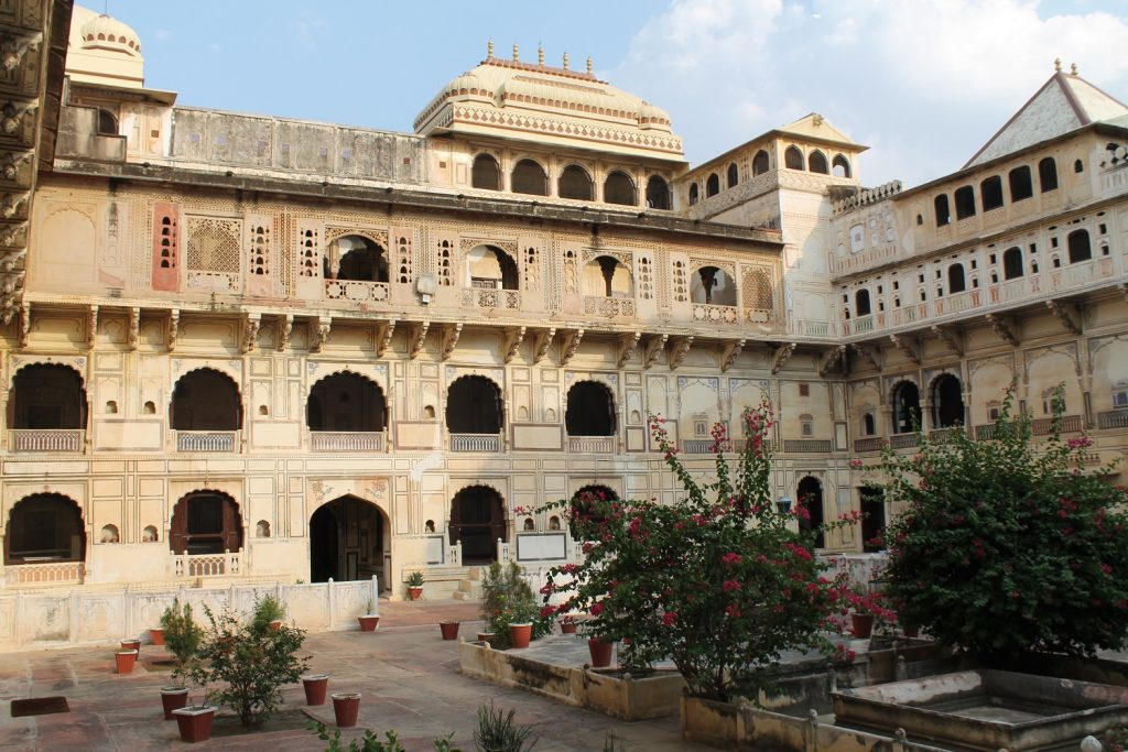 Karauli Old Palace Courtyard