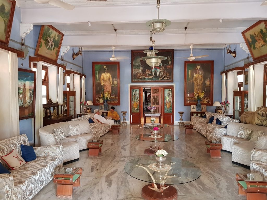 Reception Hall at Bhanwar Vilas