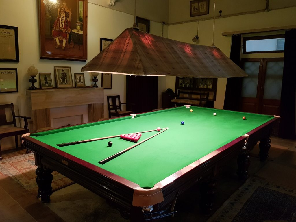 Snooker Table at Bhanwar Vilas