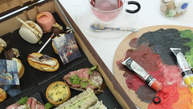 ARTea Afternoon Tea Cakes and Sandwiches