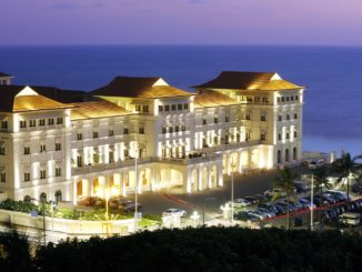 Galle Face Hotel at Night by Martin Sasse