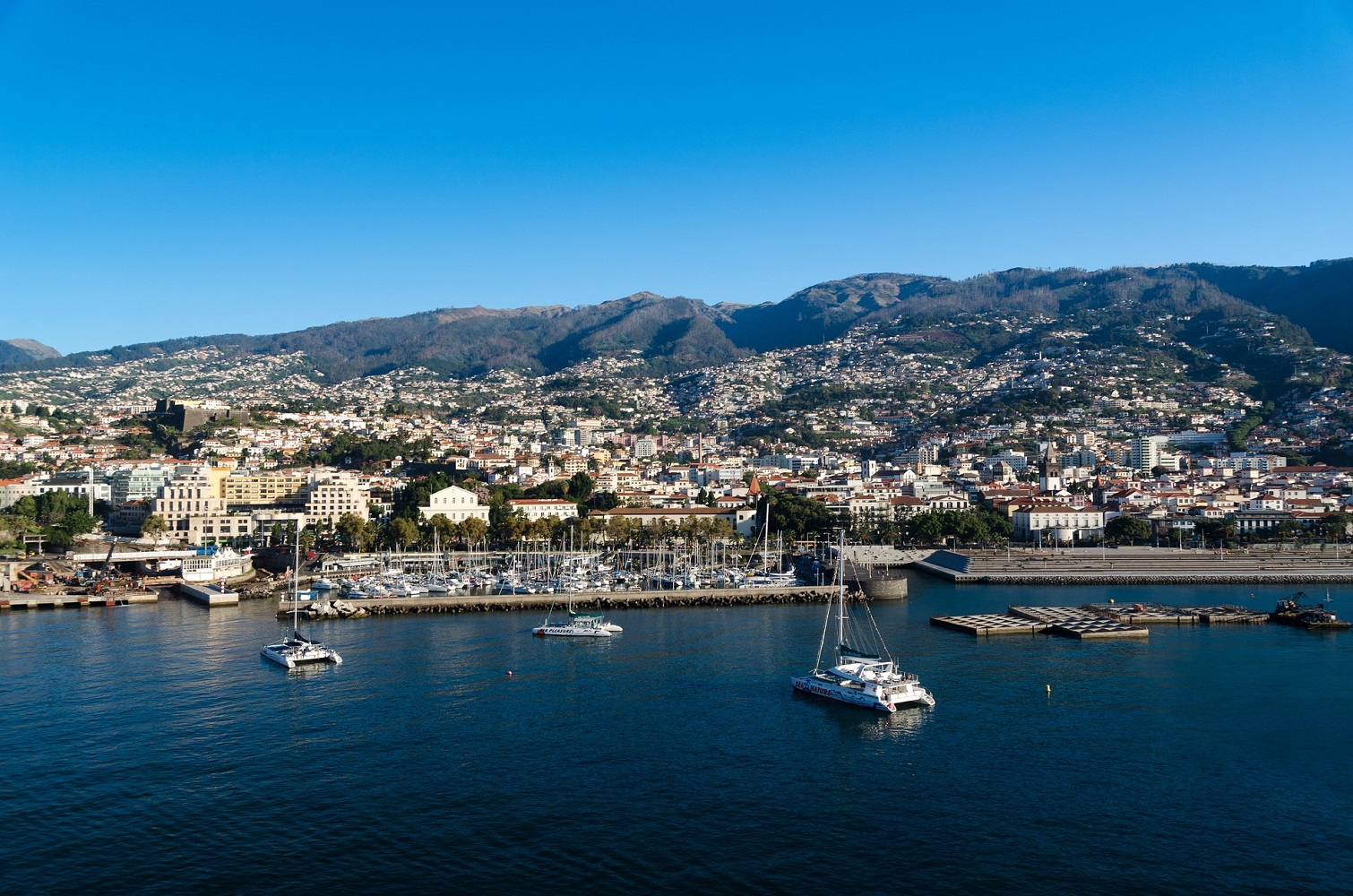 Funchal Harbour, Madeira