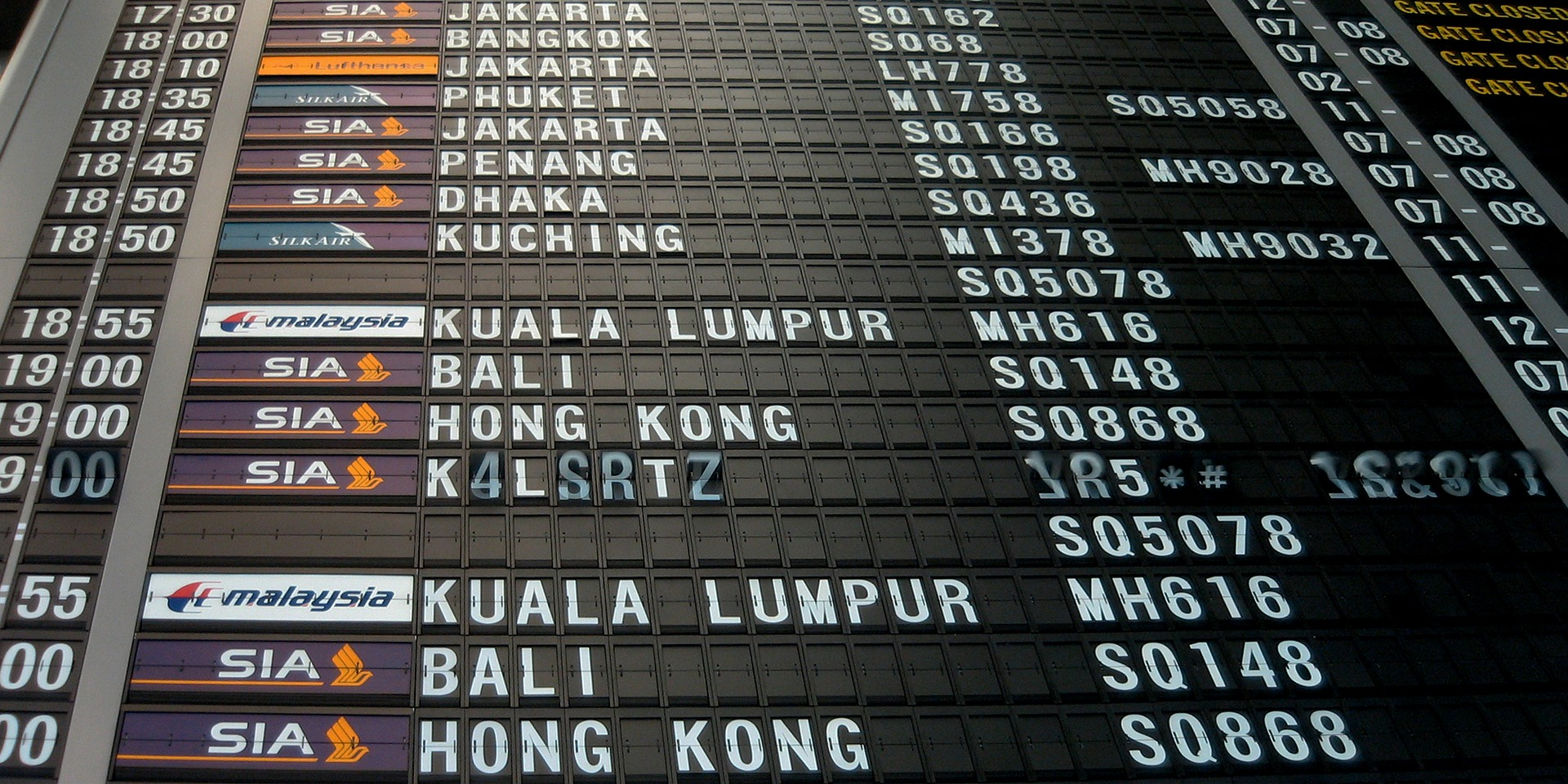Airport Flight Board