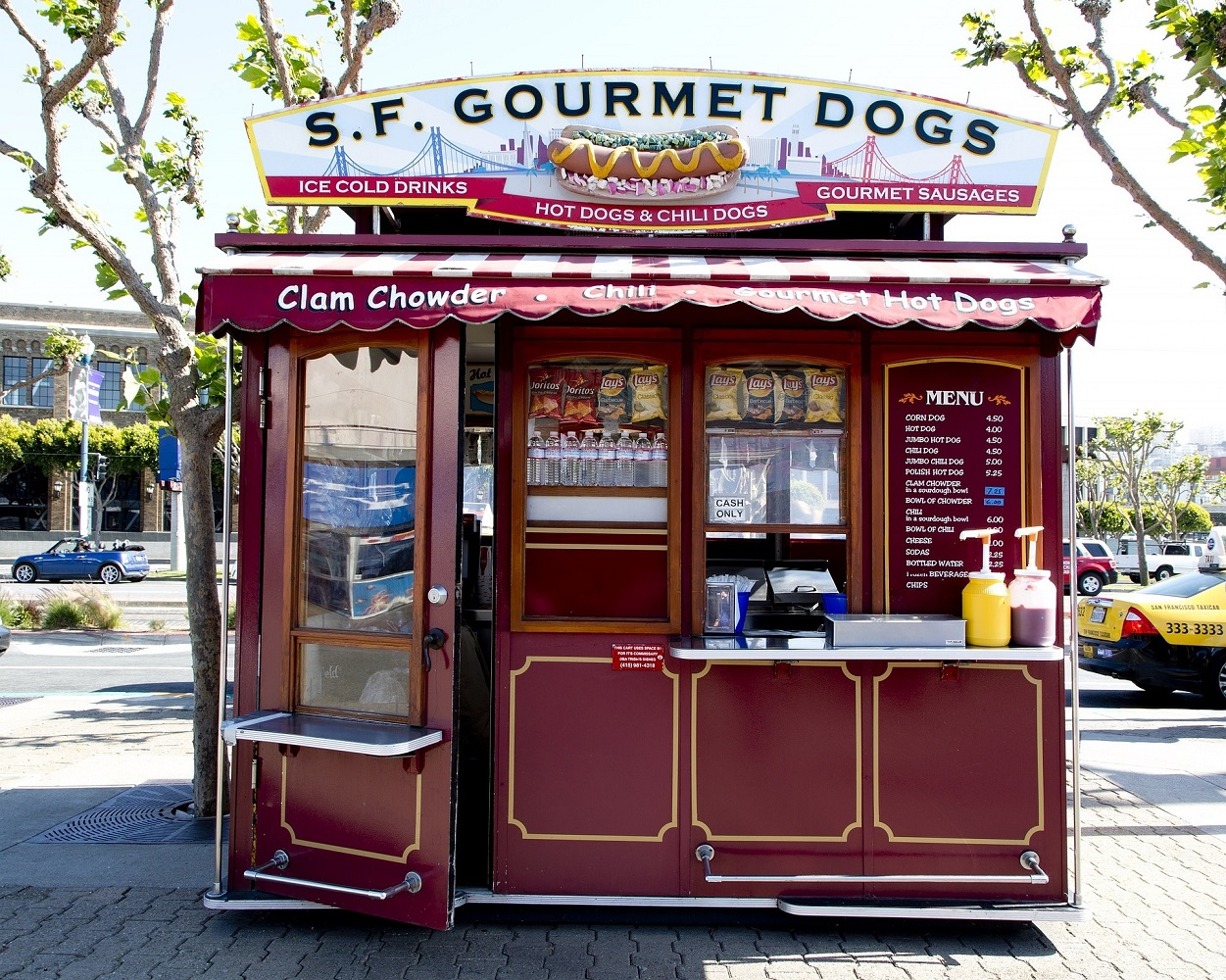 Gourmet Hot Dog Stand