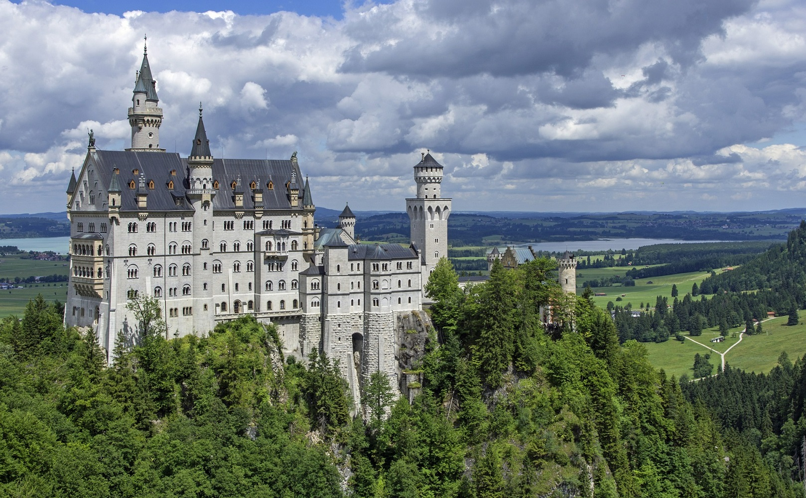 Neuschwanstein Castle in Bavaria