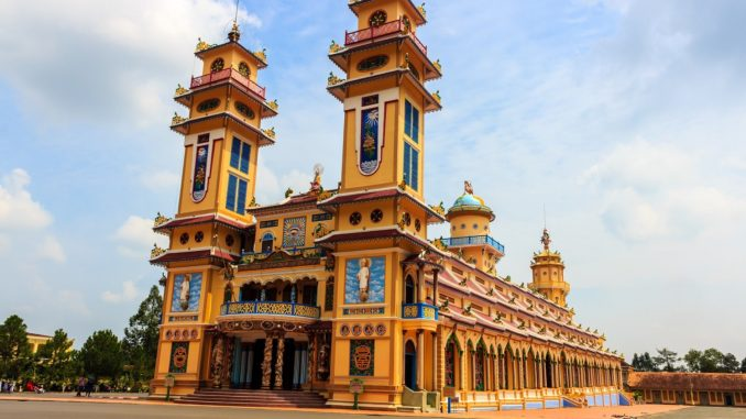Saigon Temple in Ho Chi Minh City