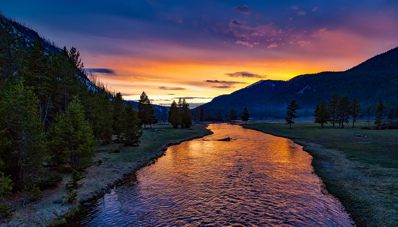 Yellowstone National Park in the US