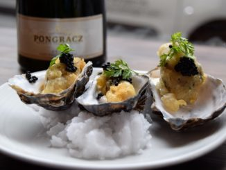 Pongracz Sparkling Wine and Oysters