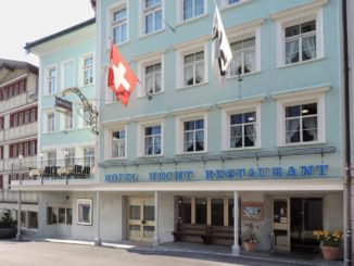 Hotel Hecht Appenzell Entrance