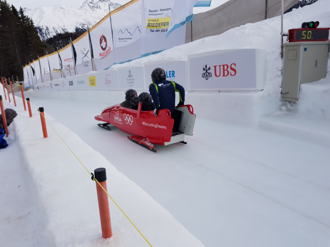 Bobsleigh Start