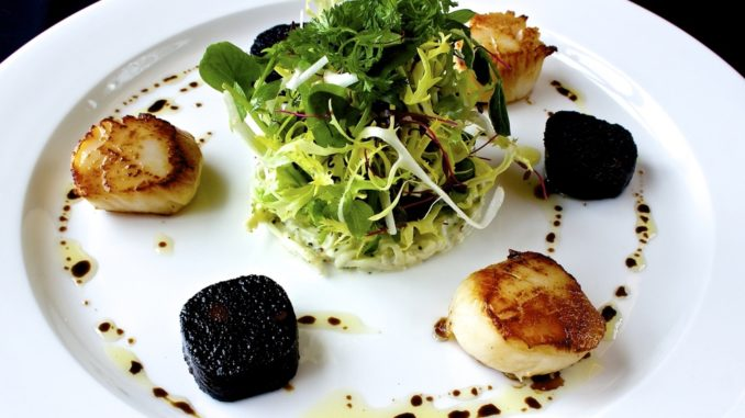 The Wee Restaurant Scallops