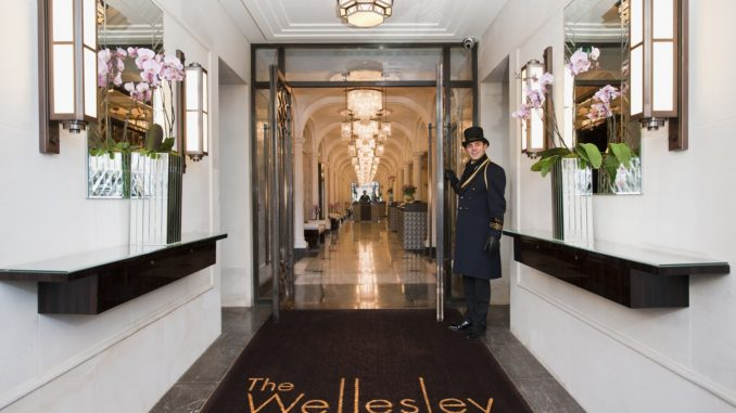 The Wellesley Entrance