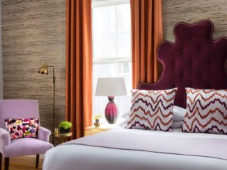 Gilded Hotel Bed