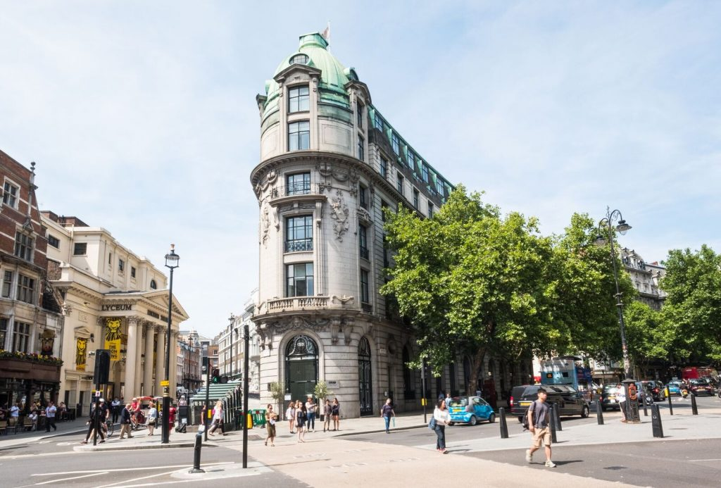One Aldwych Building Exterior