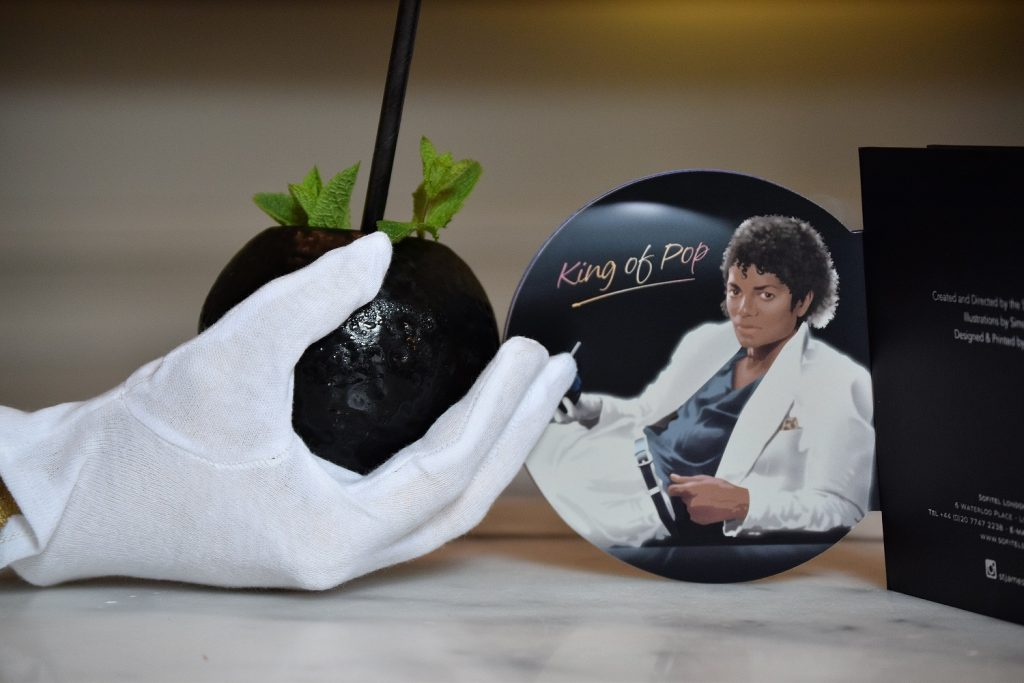 'King Of Pop' Michael Jackson musical themed cocktail