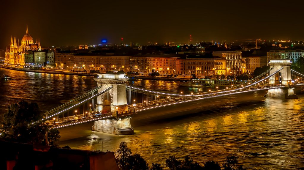 Night out in Budapest