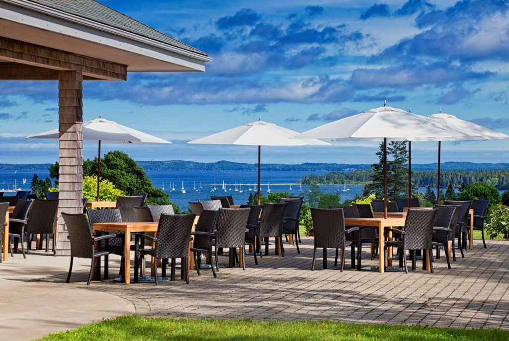 The Algonquin Resort Clubhouse Patio