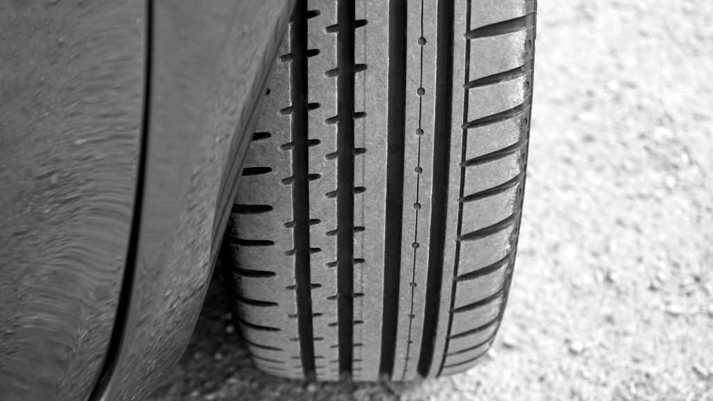 Check your car's tyres for wear and tread depth