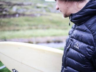 L.L.Bean Jacket and Surfboard