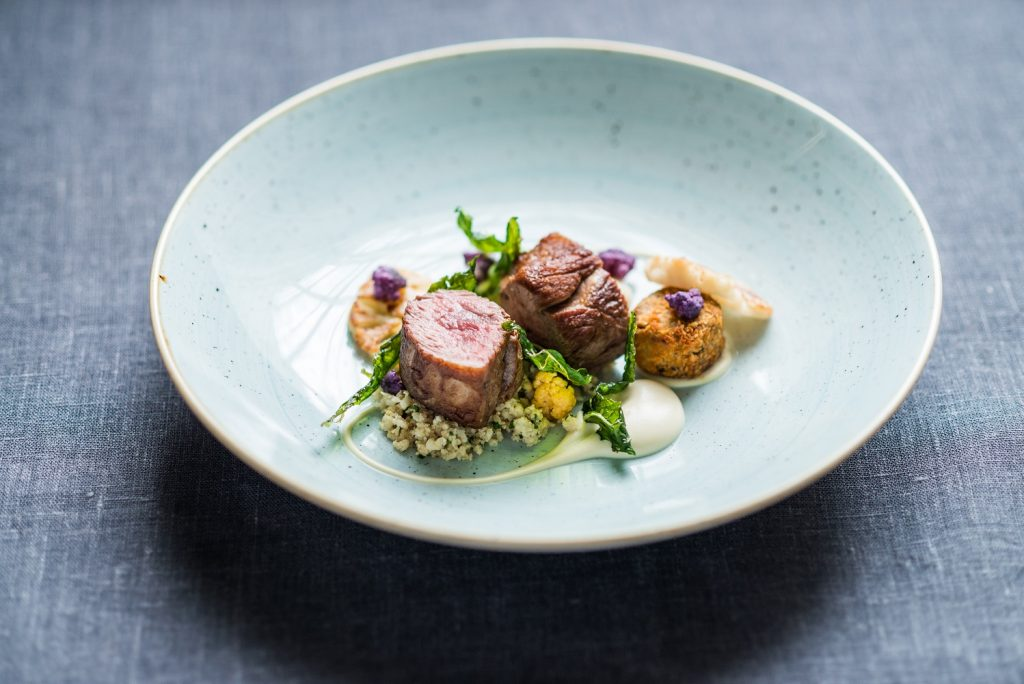 Simpson's Cornish Lamb and Brassicas