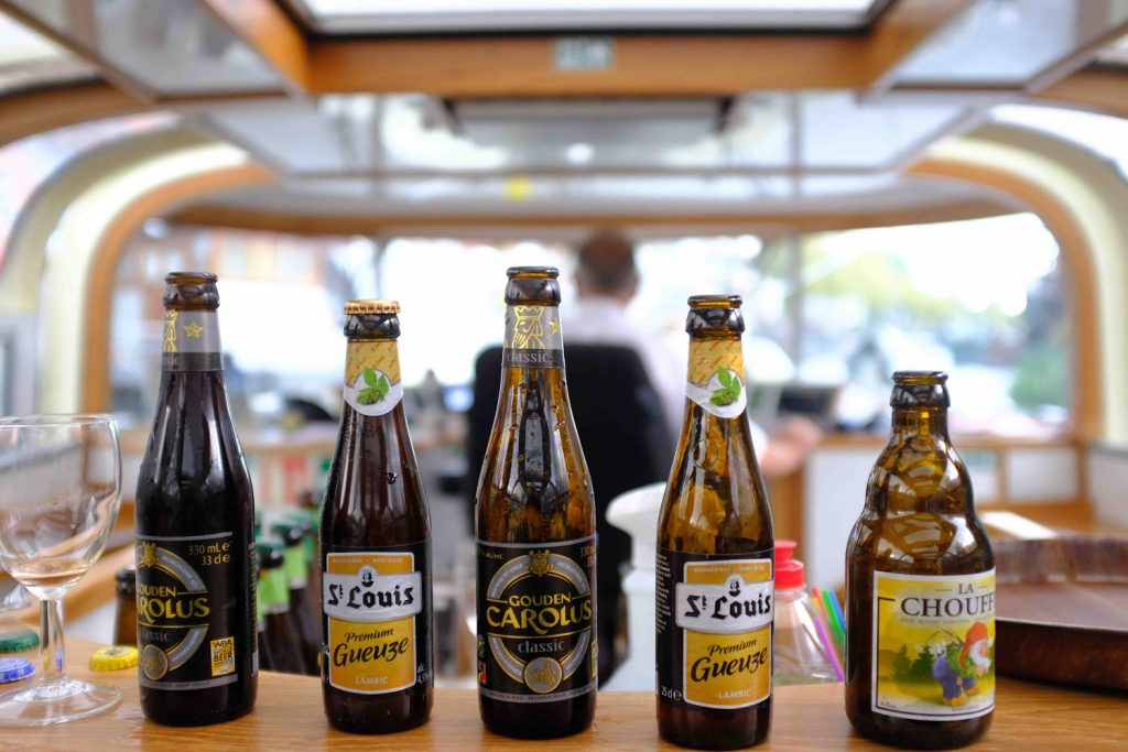 Beer tasting canal cruise
