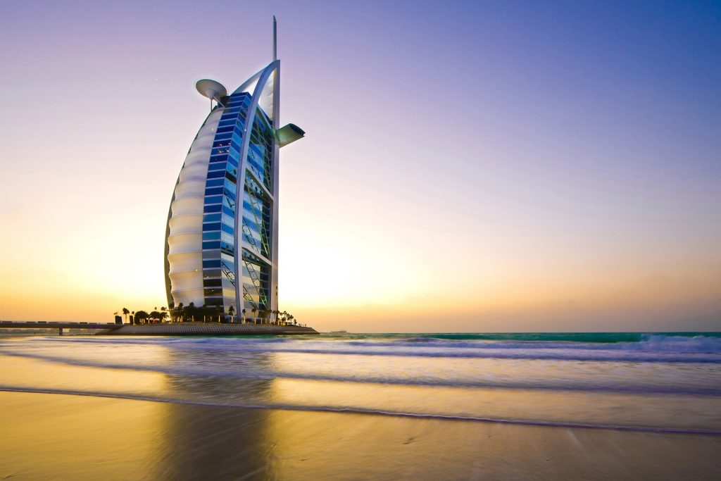 Burj-al-Arab in Dubai