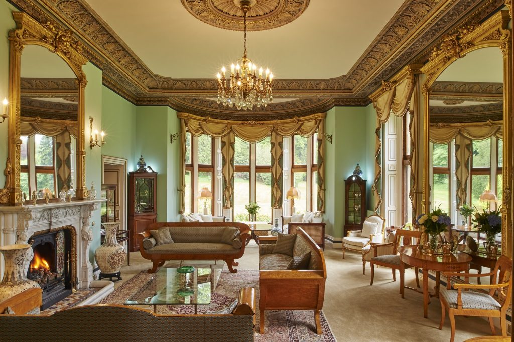 The Drawing Room at Palé Hall