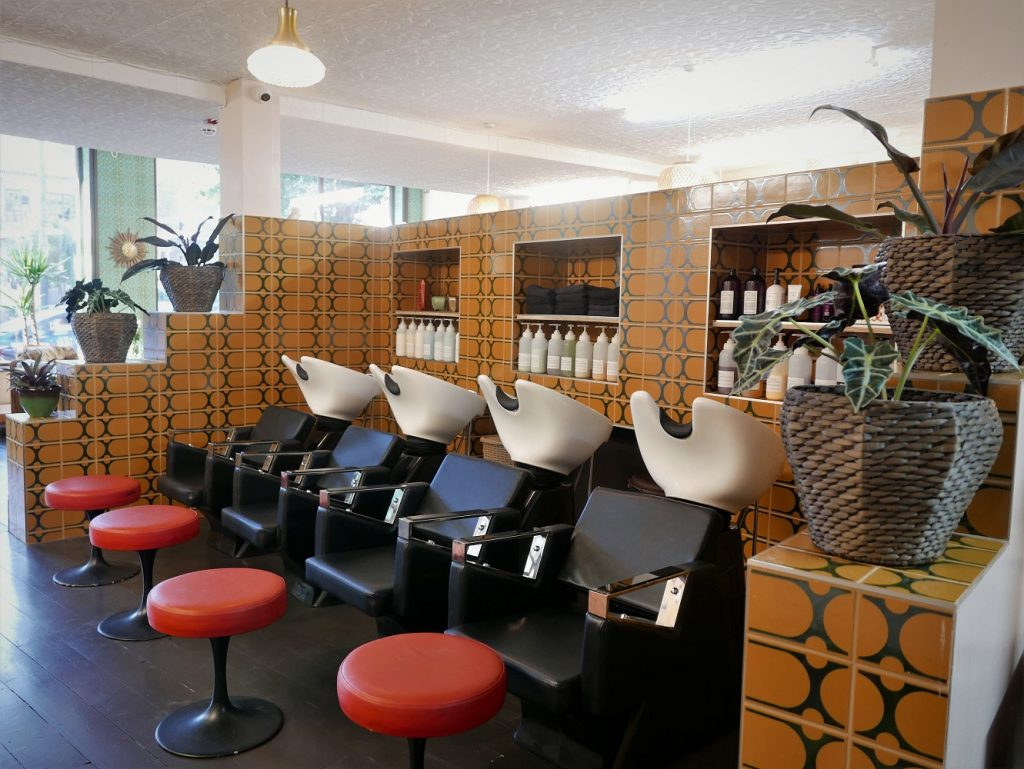 Foster London Hair Salon Interior