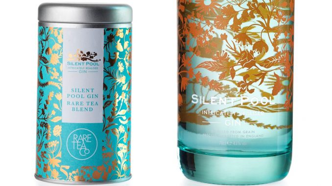 Silent Pool Tea and Gin Bottle