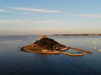St Michael's Mount in Cornwall is accessible